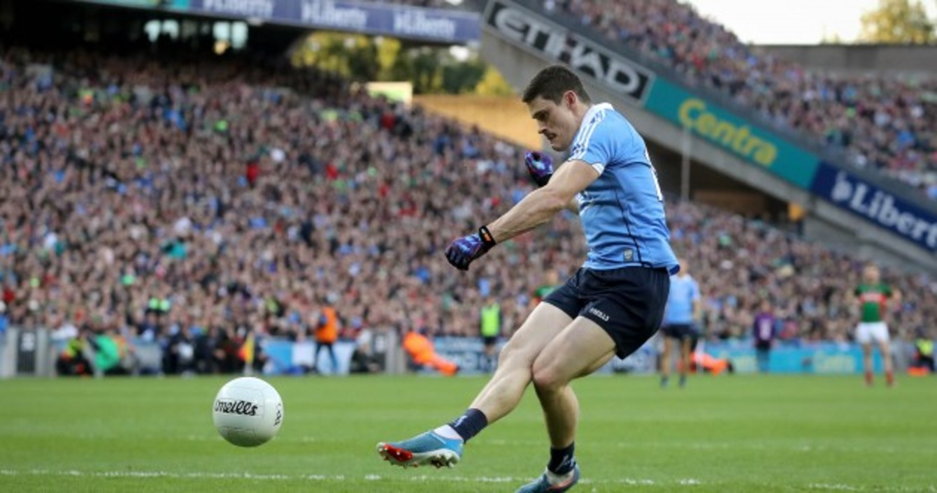 diarmuid connolly middot the just put it in the corner and walk away diarmuid connolly on that