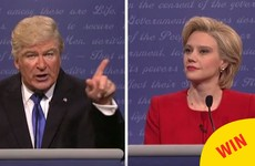 Everyone is loving Alec Baldwin's scarily spot on impression of Trump on SNL last night