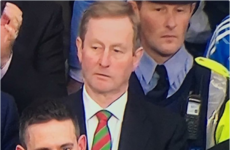 Enda Kenny's doppelganger was standing behind him at the All Ireland yesterday
