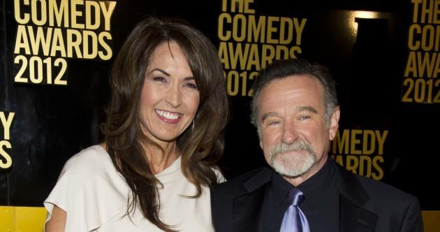 "Robin Williams' widow has described ""the terrorist inside my husband's brain"""