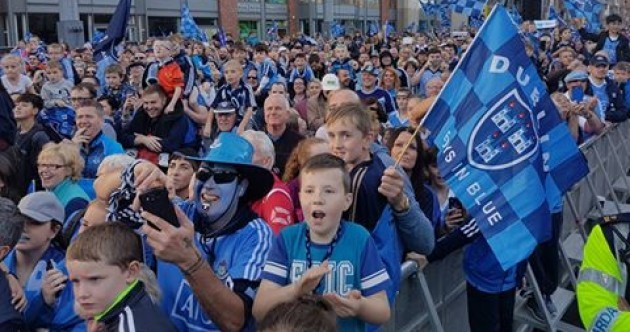 Dublin's All Ireland homecoming turned into a bit of a singsong