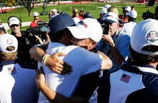Love 'humbled' by Ryder Cup success