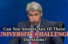 Can You Answer Any Of These University Challenge Questions?