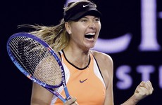 'Justice being served': Sharapova's sponsor widely-criticised for congratulatory statement