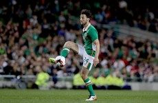 Harry Arter set to miss Georgia game but Ireland fans needn't worry about his commitment