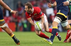 O'Leary, Andress and Chisholm miss out on Munster's Champions Cup squad