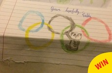 This Irish Olympian received the most adorable fan letter from a little girl