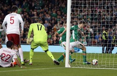 We'll take it! This scrappy Séamus Coleman goal gives Ireland all three points against Georgia