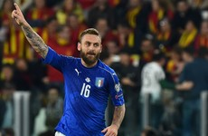 De Rossi penalty spares Buffon's blushes in Turin