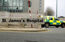 Patients at St James's unable to have water with tablets due to leak