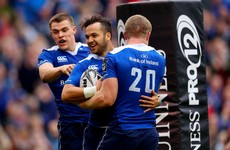 Nacewa's double hands Leinster the interpro bragging rights over abject Munster