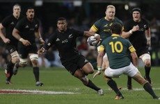 All Blacks thrash South Africa for record-equalling 17th consecutive win