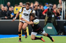 George double seals big win for Saracens over Wasps in top-of-the-table clash