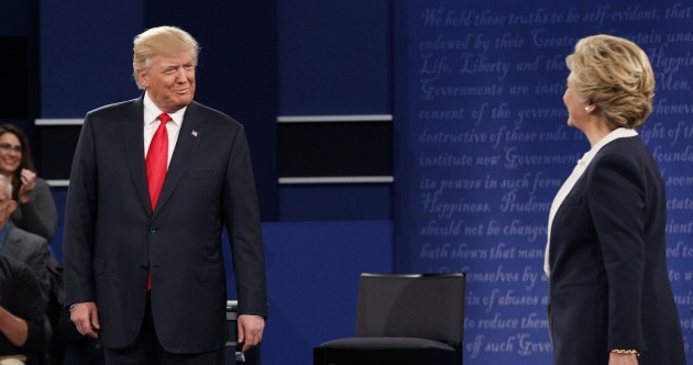"""If I was President, you'd be in jail"" - The key moments from Trump vs Clinton II"