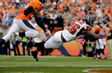 Falcons flying high as the Broncos fall at last