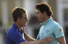 McIlroy: It's over - I can't catch Luke Donald now