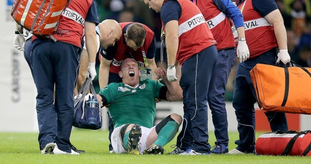 It's a year to the day since Paul O'Connell's brilliant career ended in agony