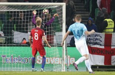 Joe Hart comes to England's rescue in Slovenia