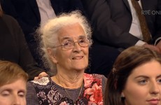 This 77-year-old Dublin woman was the hero of Prime Time's Budget debate last night