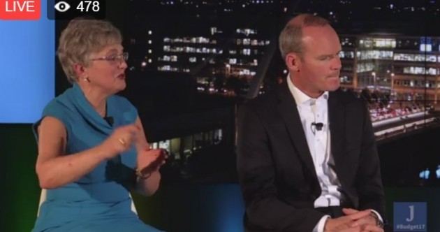 WATCH: Simon Coveney and Katherine Zappone answer your questions about Budget 2017