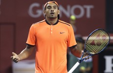 Kyrgios finds himself in more trouble after throwing match and arguing with spectator