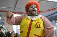 Ronald McDonald has fallen victim to the current 'creepy clown' craze