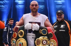 Fury's licence suspended hours after unbeaten heavyweight voluntarily vacated titles