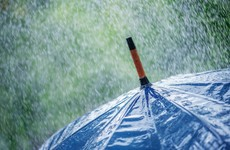 Rainfall warning issued for south of country