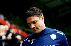 No place for Dan Carter in Racing 92's team to take on Munster