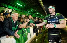 John Muldoon praises '9,000 crazy western people' for helping Connacht over the line