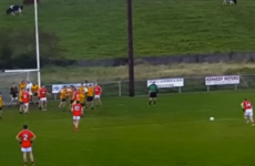 This stunning goal from a free lit up a Mayo club championship game yesterday