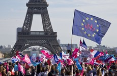 Tens of thousands protest against gay marriage on streets of Paris