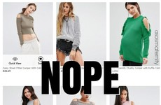 'Cold shoulder jumpers' are the most pointless clothing item and need to be stopped
