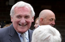 Bertie Ahern is feeling good about Fianna Fáil's general election chances