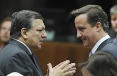 "Barroso hails Euro deal - but slams UK's ""impossible"" demands"