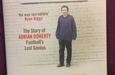 Tragic tale of Tyrone's Adrian Doherty included in shortlist for William Hill award