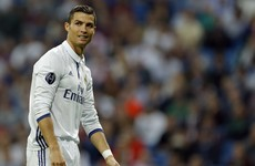 'We all expect more from Cristiano and he knows that'