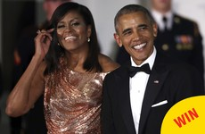 People are obsessed with this STUNNING gown Michelle Obama wore for her last state dinner
