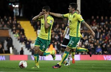 Don't panic - Robbie Brady was back in action for Norwich last night