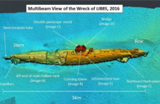 Wreckage of a World War I submarine 'disabled by a sea monster' found off Scotland