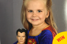 People are loving this little girl who chose a super hero outfit for her school photo