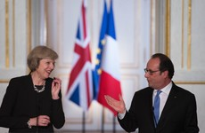 Francois Hollande to Theresa May: 'You want a hard Brexit? The talks will be hard too'