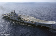Russia is sailing a fleet of warships through the English Channel