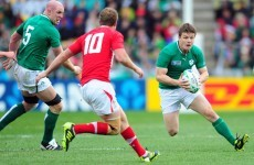 O'Driscoll still sore over World Cup exit