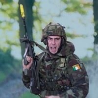 A mock firefight and IED blast: Irish soldiers prepare for Lebanon