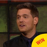 The whole audience fell in love with Michael Bublé serenading his kids on the Late Late