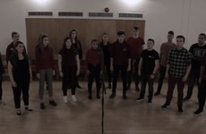 The DCU Glee Club's acapella version of The Fields of Athenry is just class