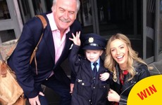 Ireland's youngest garda was on patrol around RTÉ for the Ray D'Arcy Show