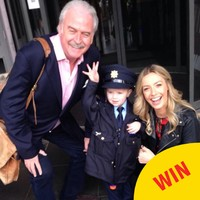 Ireland's youngest garda was on patrol around RT� for the Ray D'Arcy Show