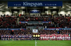 Video: Spine-tingling rendition of The Fields of Athenry rings around Ravenhill